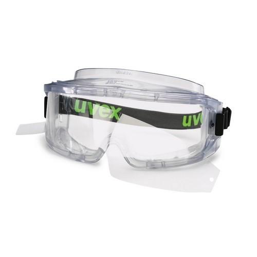 uvex Vollsichtbrille 9301813 ultravision grautransparent, PC farblos, kratzfest, beschlagfrei
