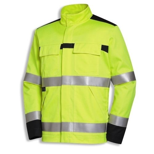 uvex Schutzbekleidung protection multi function+high-vis Jacke mit Stehkragen Modell 4742