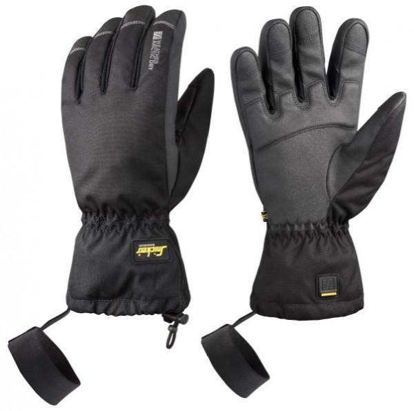 Snickers Workwear 9576 WETTER Arctic Dry Winterhandschuhe schwarz, wasserdicht
