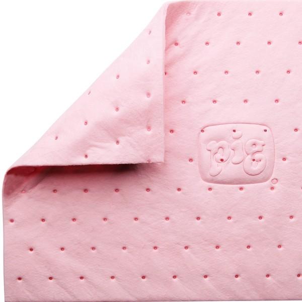 HazMat Saugmatten, Heavy, rosa, 25 x 33 cm, 100 Matten im Karton
