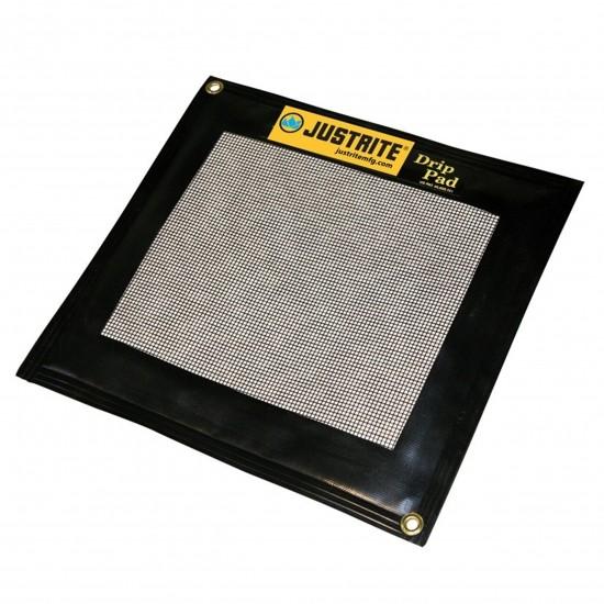 Justrite Tropfkissen 28459, Auffangpad + 5 Sorptionsmittel, schwarz, 7 L, 610 x 914 mm