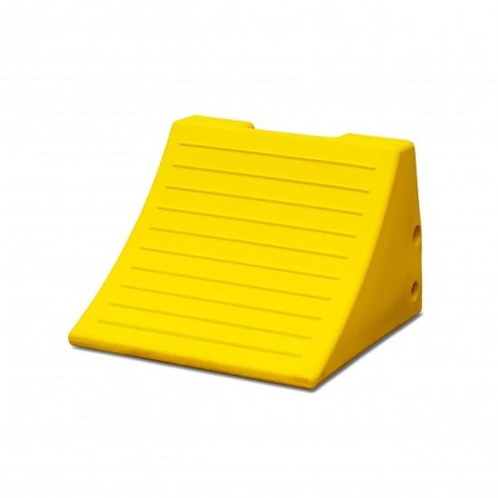 Checkers Monster Chocks Unterlegkeil MC3009, gelb, 38 x 38 x 28 cm