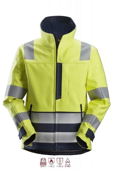 Snickers Workwear 1260 ProtecWork Softshell-Arbeitsjacke, antistatisch, Klasse 3
