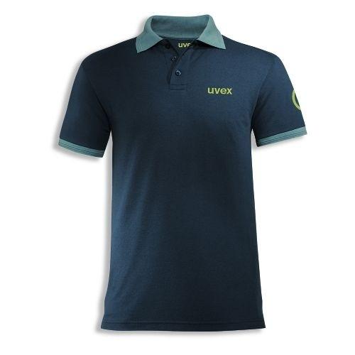 uvex Berufsbekleidung K26 Herren-Poloshirt 7419, petrol