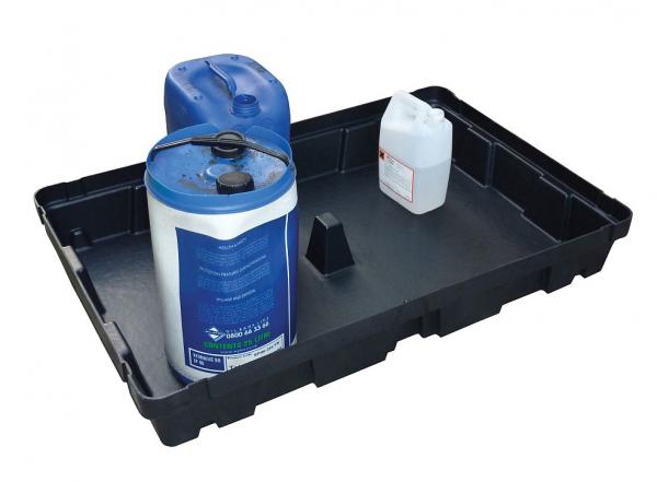 Essentials DIBt-PE-Auffangschale ohne Gitterrost, 100 Liter, PAKE276SWD