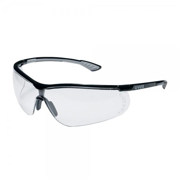 uvex Schutzbrille sportstyle, 9193080, PC farblos, Oil & Gas