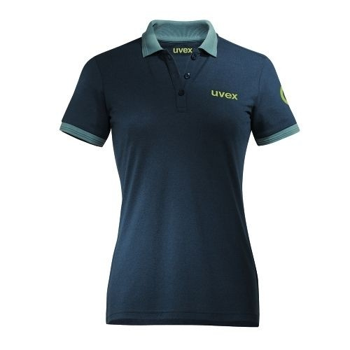 uvex Berufsbekleidung K26 Damen-Poloshirt 7433, petrol