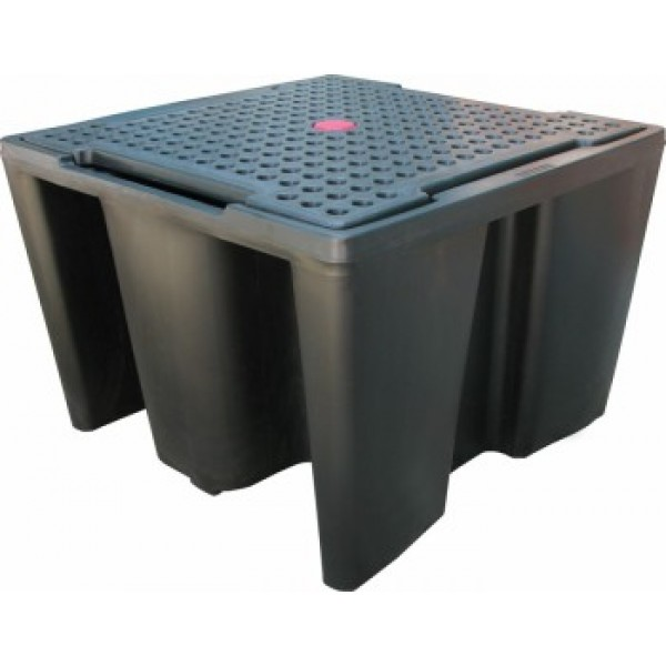 Essentials DIBt-PE-Auffangwanne für 1x IBC, 1100 Liter, PAKE235SWD
