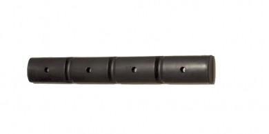 H.22676 - Wand-Schutzprofil 1000 schmal PE schwarz