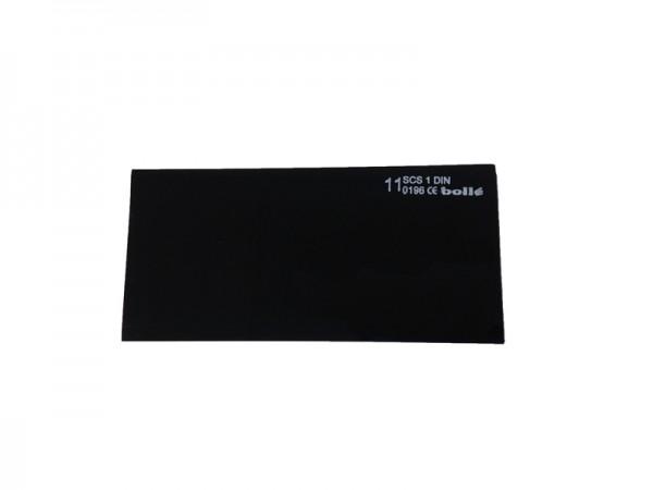 bolle Schweißfilter MP1110550 - Mineral - Schweißtönung 11, 105 x 50 mm, 10 Stück