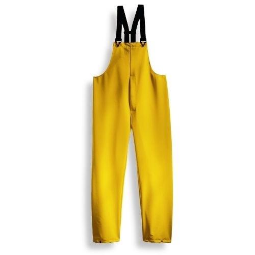 uvex Schutzbekleidung protection Regen-Latzhose gelb Modell 666