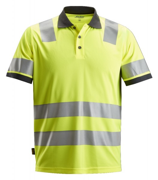 Snickers Workwear 2730 AllroundWork High-Vis Polo Shirt, EN 20471 Klasse 2