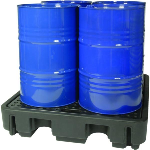Essentials 4-Fass-DIBt-PE-Auffangpalette, 250 Liter, PAKE232SWD
