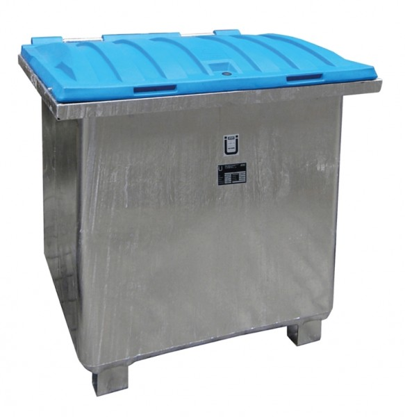 Bauer Altöl-Sammelbehälter Typ ASO-D 800 feuerverzinkt für entzündbare Flüssigkeiten > 55°C