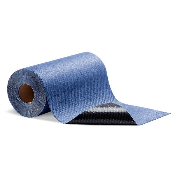 Grippy selbsthaftende Saugrollen, blau, 41 cm x 15 m, 1 Rolle im Beutel