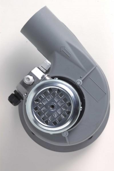 Kleinradialventilator FRv 110/2/F/PTO, 85-590 m³/h, 2-polig, mit Flansch