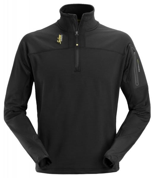 Snickers Workwear 9435 Body Mapping Micro Fleece Pullover mit halbem Reißverschluss