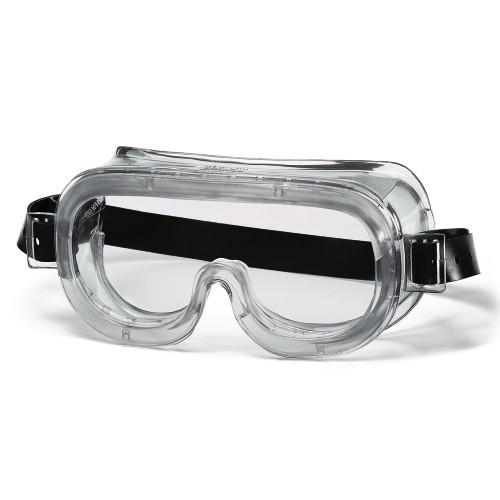 uvex Vollsichtschutzbrille 9305514 mit Gummikopfband, CA farblos