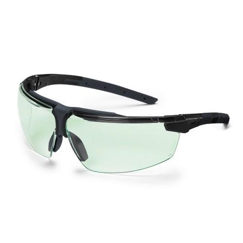 uvex Schutzbrille i-3 9190880, PC leicht grün, selbsttönnende Scheiben