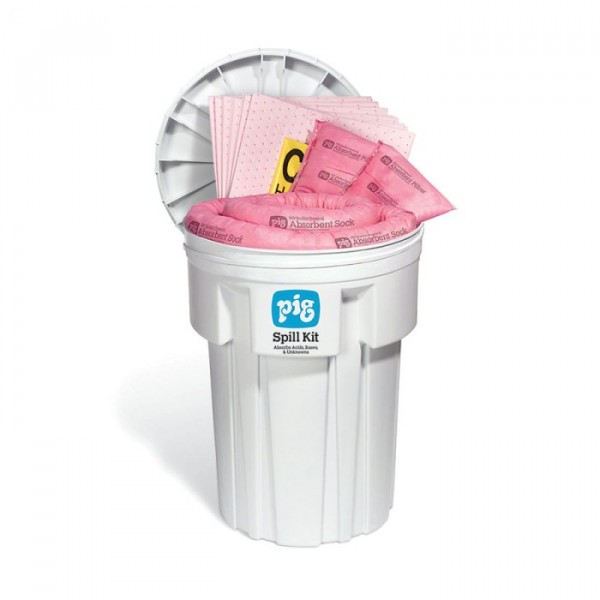 Chemikalien Notfall-Kit im 115 L Sicherheitsfass KIT336