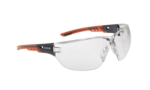 bolle Schutzbrille NESS+ - NESSPPSI mit Bi-Material Rahmen, klares PC