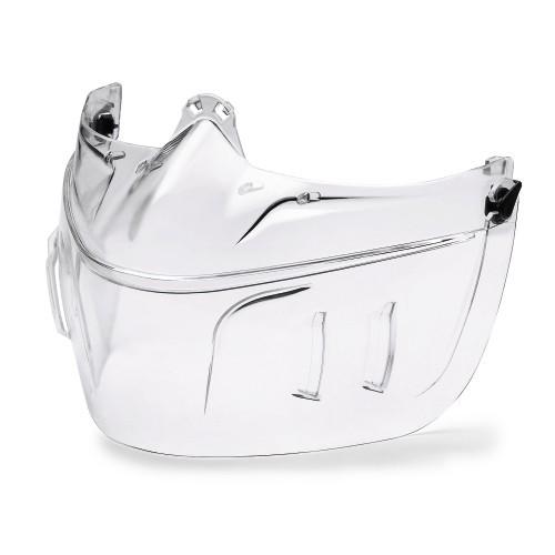 uvex Mundschutz 9301318 für Vollsichtbrille ultravision mit PC-Scheibe, unbeschichtet