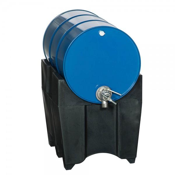 Fassbock Polyethylen (PE) für 60-200-Liter-Fässer, schwarz