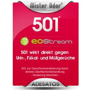 BDLC-501 gegen extremen Geruch, Flüssigkeit, EOStream