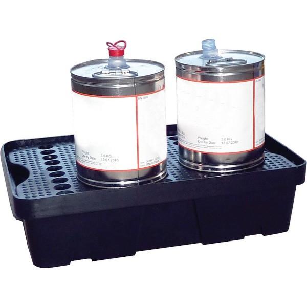 Essentials DIBt-PE-Auffangschale mit Gitterrost, 20 Liter, PAKE271SWD