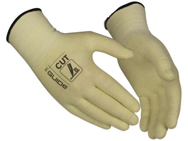 Schnittschutz-Handschuhe 327 Guide, extra dünn, unbeschichtet, mit Strickbund
