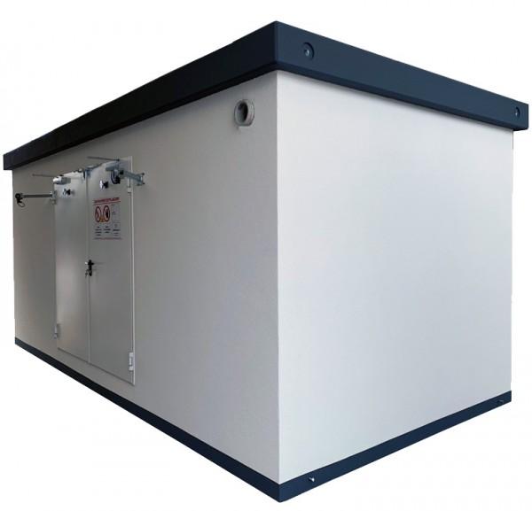 Begehbares Brandschutzlager F90 für Kleingebinde oder Lithium-Ionen-Speicher zur Außenaufstellung Typ 6030
