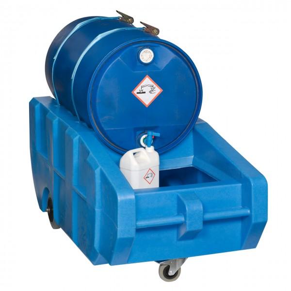 Fasskarre FK-KV für 200 Liter Stahlfässer zum sicheren Abfüllen