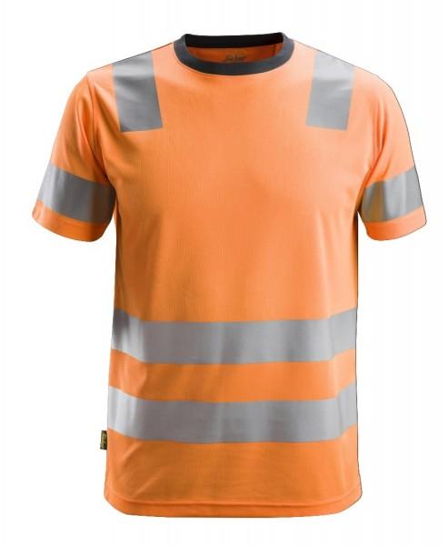Snickers Workwear 2530 AllroundWork High-Vis Kurzarm T-Shirt, EN 20471 Klasse 2