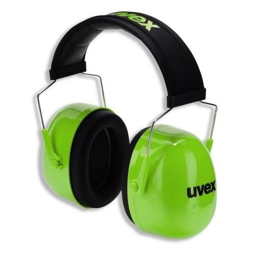 uvex Kapselgehörschutz K4 mit Längenverstellung, neon lime, SNR 35 dB