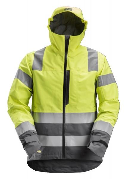 Snickers Workwear 1330 AllroundWork High-Vis Arbeitsjacke mit Kapuze, EN 20471 Klasse 3