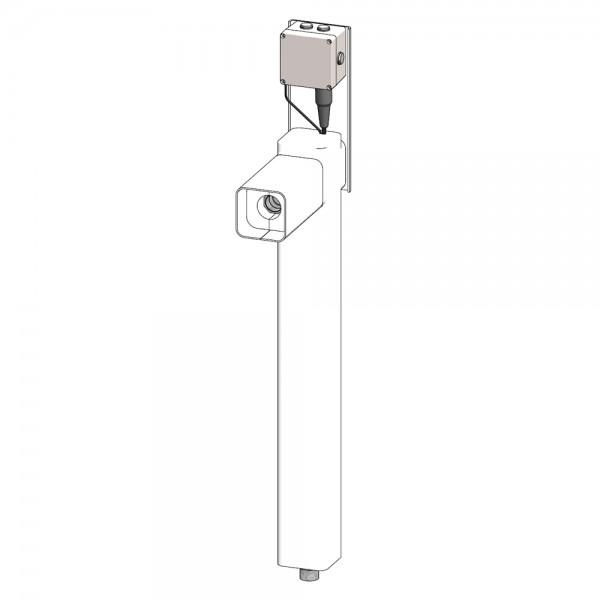 Untergrunderweiterungsrohr Typ STD-H-7GS für Kombinationsduschen