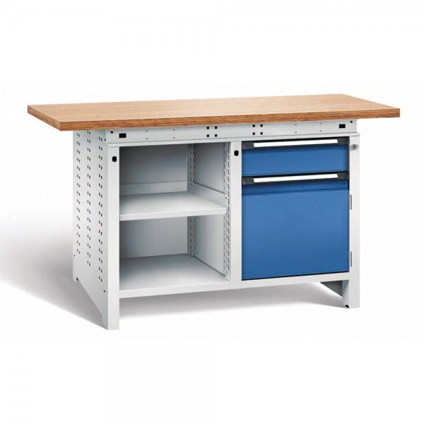 Werkbank FUNCTION Typ 2111 mit 1 Schublade und Ablageboden von Otto Kind