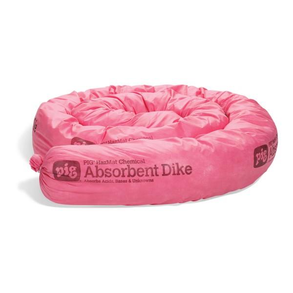 HazMat Saugdeiche, rosa, Ø 13 cm x 3 m, 2 Deiche im Karton