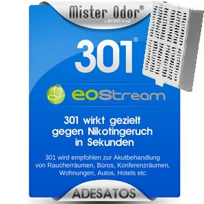 BDLC-301 ScentClip gegen Nikotingeruch, EOStream, Geruchsentferner