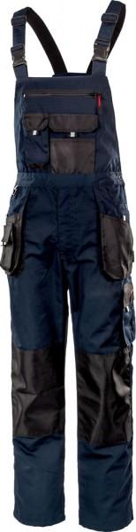 Albatros ALLROUND BLACK Latzhose blau/schwarz mit Knieschutztaschen