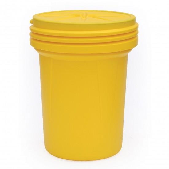 Eagle 30 Gallon Lab Pack Trommel 1600SL, PE, 114 L, gelb, mit Schraubdeckel