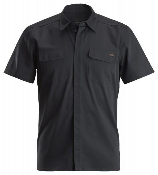 Dunderdon Berufsbekleidung Original Line SH2S Kurzarm-Arbeitshemd, schwarz