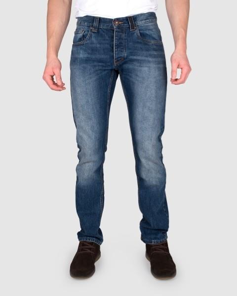 Dunderdon Berufsbekleidung Casual Line Jeans Hose P50, Stonewash