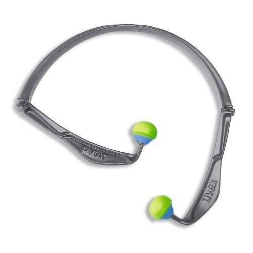 uvex Bügelgehörschutz x-fold mit faltbarem Bügel, 23 dB, 5 Stück, für kurzfristigen Einsatz