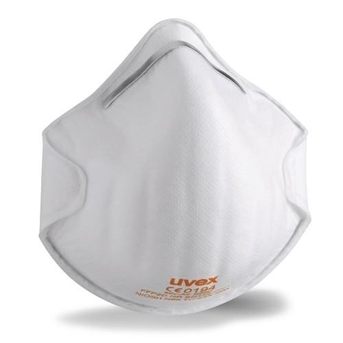 uvex Atemschutzmaske silv-Air c 2200 FFP2 NR D, Formmaske ohne Ventil