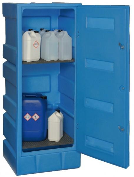 ADESATOS PE-Gefahrstoffschrank SL-3, 70 Liter für korrosive Stoffe mit Schloss