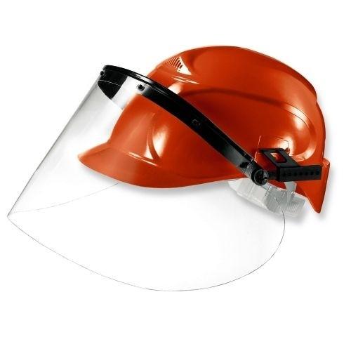 uvex Visier 9726 PC farblos, unbeschichtet, zur Montage an die seitlichen Helm-Slots