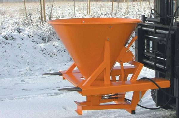Bauer Streugerät Typ SH für Sand, Salz und Splitt für Stapler mit Hydraulik