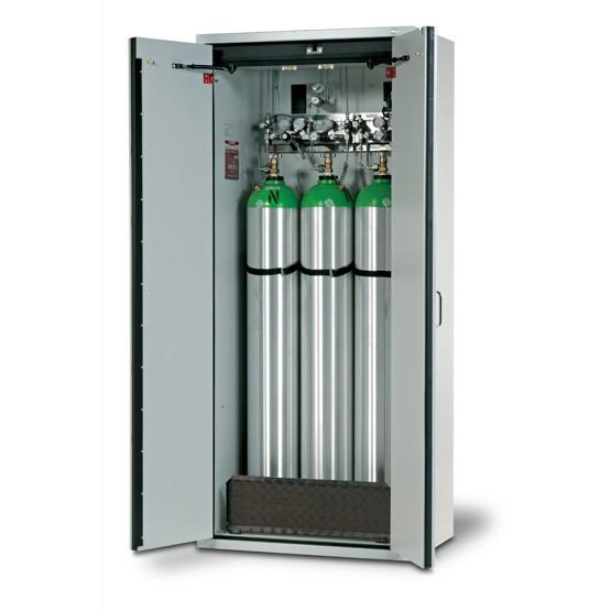 Gasflaschenschrank G30.205.90, 30 Minuten, für 3 Druckgasflaschen à 50 Liter, G-CLASSIC-30