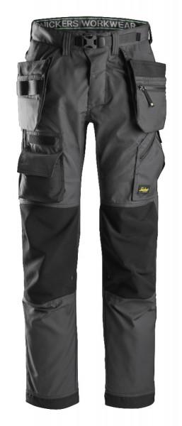 Snickers Workwear 6923 FlexiWork, Bodenleger Arbeitshose+ Holstertaschen
